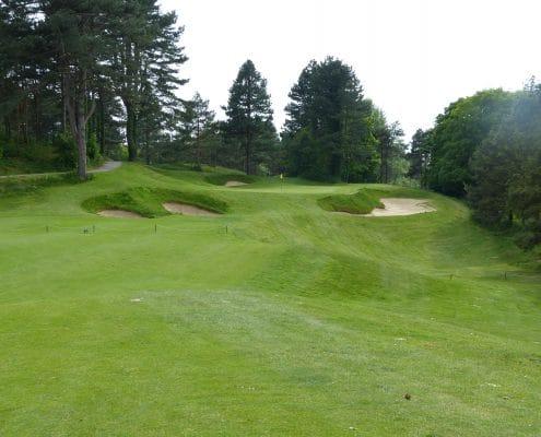 week-end golf Hardelot, parcours Les Dunes