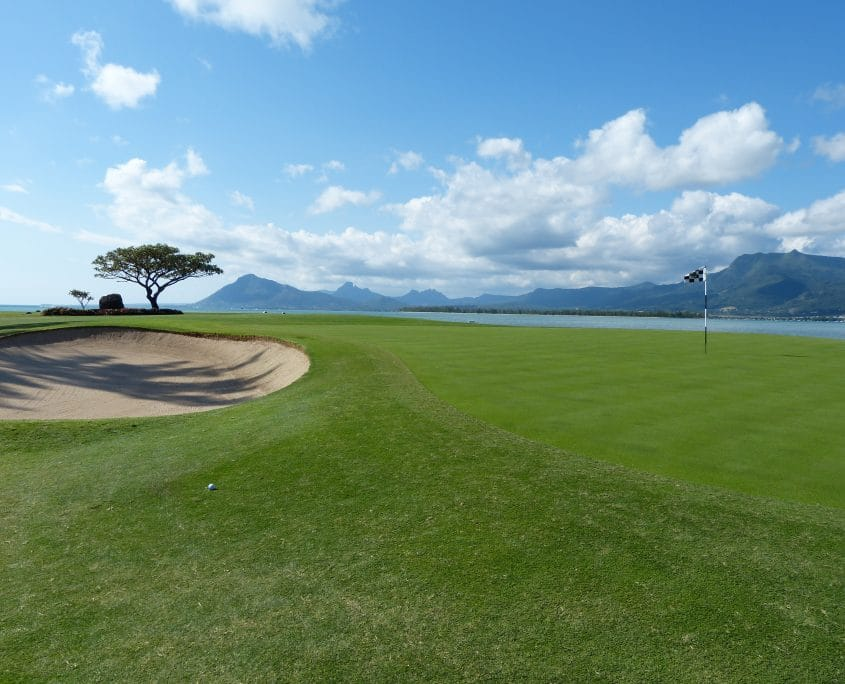 voyage golf Ile Maurice, paysages paradisiaques