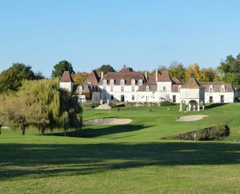 golf travel Bordeaux, château des Vigiers, luxury hotel, golf and spa