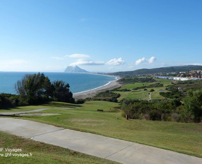 Voyage golf Espagne, Costa del Sol, parcours à Sotogrande
