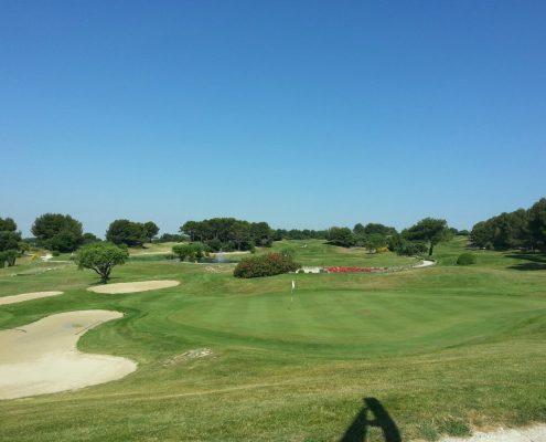 voyage golf Côte d'Azur, golf de Saumane