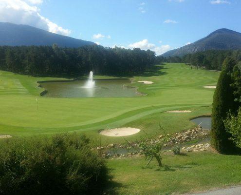 voyage golf Côte d'Azur, golf de Taulane