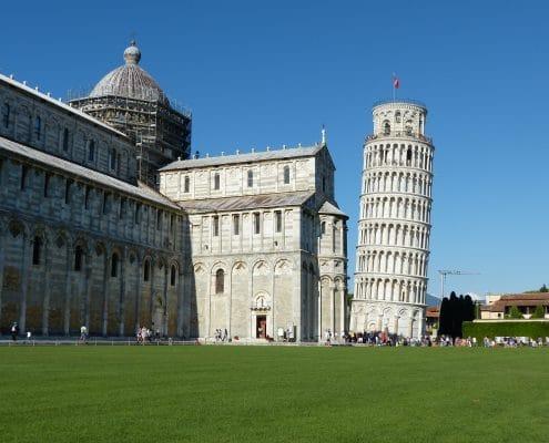 voyage golf Italie, Toscane, Pise